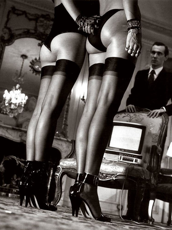 Pan, chocolate y Helmut Newton